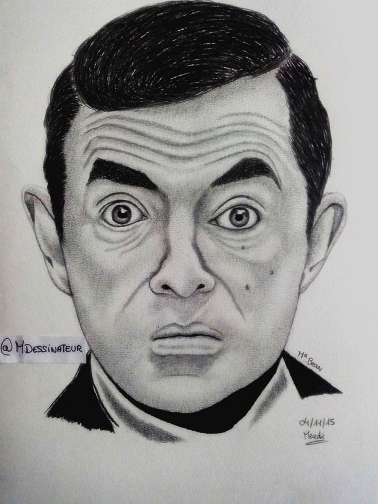 Rowan Atkinson by MisterDessinateur45